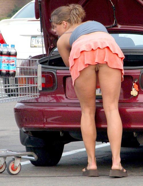 Celebrity free accidental upskirt
